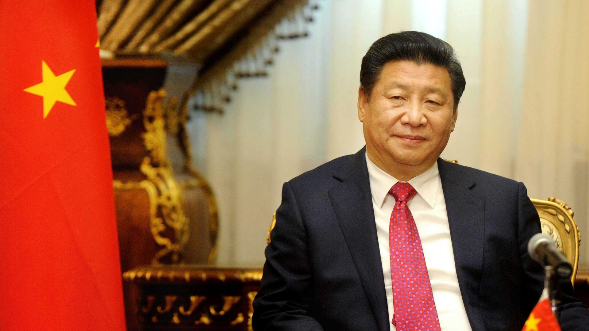 Chinese President Xi Jinping visits the parliament in Cairo, Egypt, Thursday, Jan. 21, 2016. - Sputnik Mundo, 1920, 09.02.2021