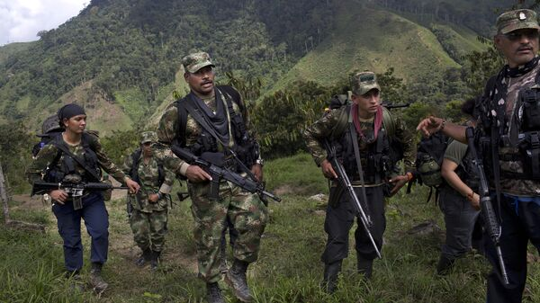 Militantes de las FARC - Sputnik Mundo
