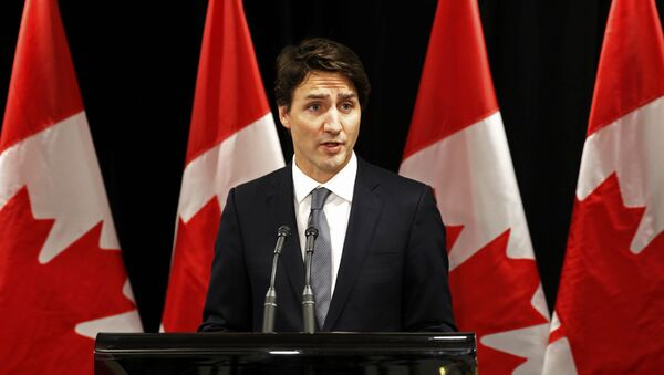 El primer ministro canadiense, Justin Trudeau - Sputnik Mundo