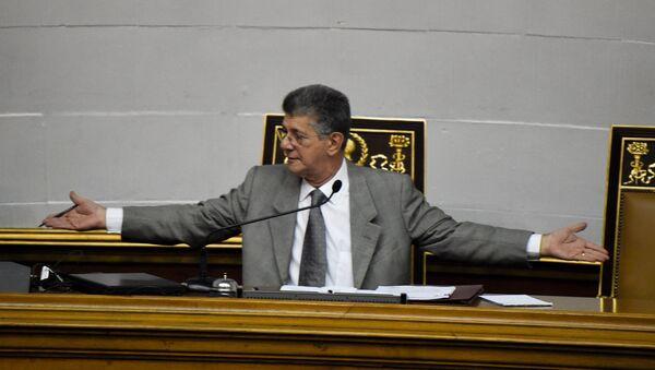 Henry Ramos, presidente de la Asamblea Nacional de Venezuela - Sputnik Mundo