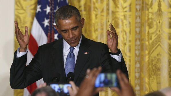 Barack Obama, el presidente de los EEUU - Sputnik Mundo