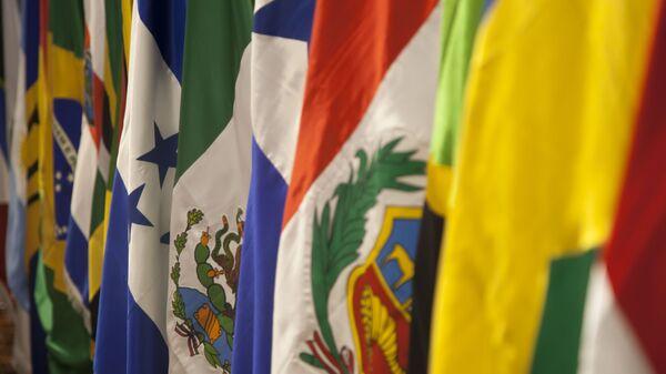 Banderas de América Latina - Sputnik Mundo