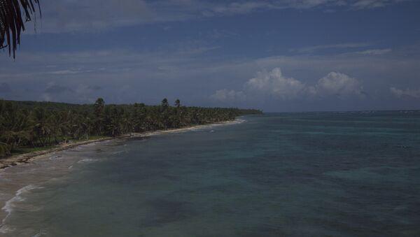 Costa de Little Corn Island - Sputnik Mundo
