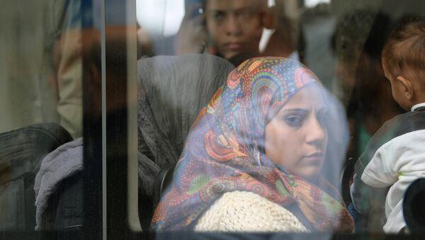 Refugiados en Alemania - Sputnik Mundo