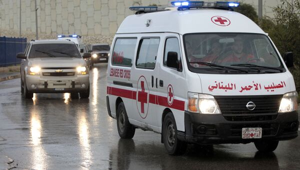 Ambulancia en Siria - Sputnik Mundo