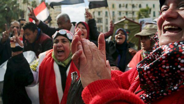 Conmemoración de la Revolución de 2011 en Egipto - Sputnik Mundo