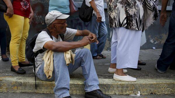 Сrisis económica en Venezuela - Sputnik Mundo