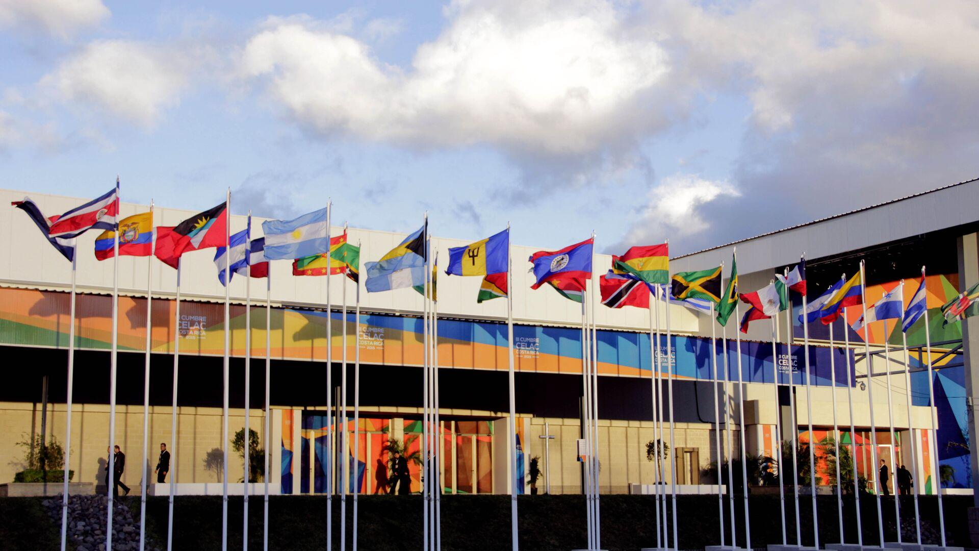 Banderas de los países miembros de CELAC - Sputnik Mundo, 1920, 04.02.2021
