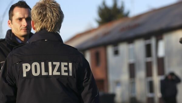 Policías alemanes - Sputnik Mundo