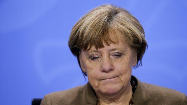 La canciller alemana Angela Merkel - Sputnik Mundo