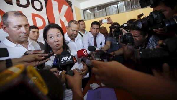 Keiko Fujimori - Sputnik Mundo
