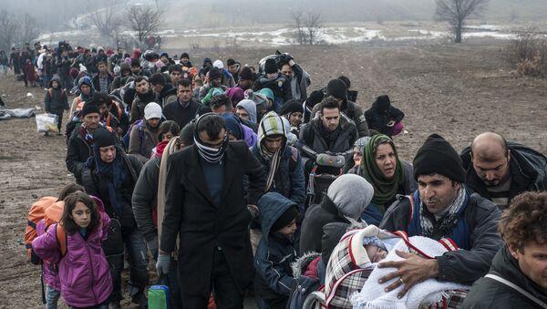 Refugiados - Sputnik Mundo