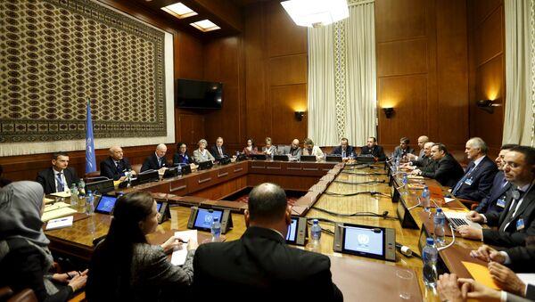 Negociaciones sobre Siria en Ginebra (archivo) - Sputnik Mundo