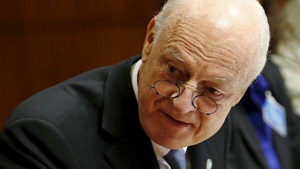 Staffan de Mistura, enviado especial de la ONU para Siria - Sputnik Mundo