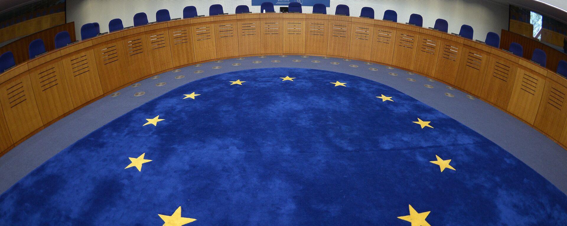 Tribunal Europeo de Derechos Humanos en Estrasburgo - Sputnik Mundo, 1920, 14.01.2021