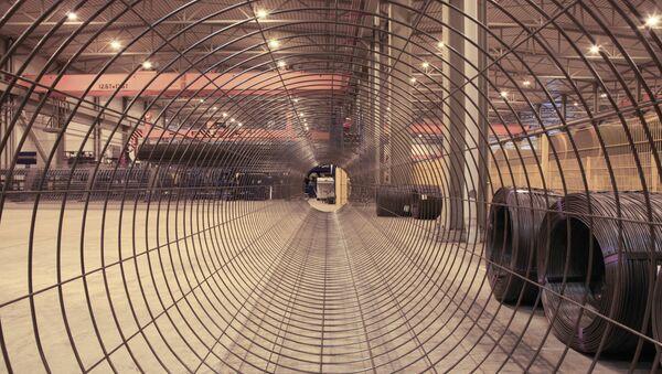 Producción de tuberías para el gasoducto Nord Stream - Sputnik Mundo