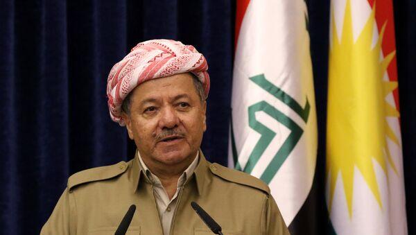 Massud Barzani, presidente del Kurdistán - Sputnik Mundo