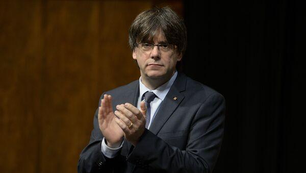 Carles Puigdemont, expresidente de Cataluña (archivo) - Sputnik Mundo
