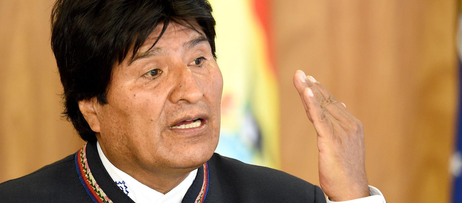 Evo Morales, expresidente de Bolivia (archivo) - Sputnik Mundo, 1920, 12.10.2020