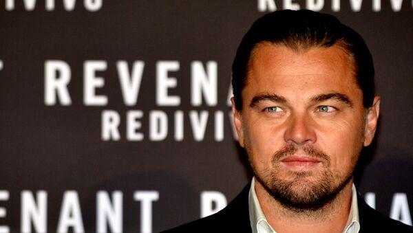 Leonardo Di Caprio, el protagonista de la película 'Renacido' - Sputnik Mundo
