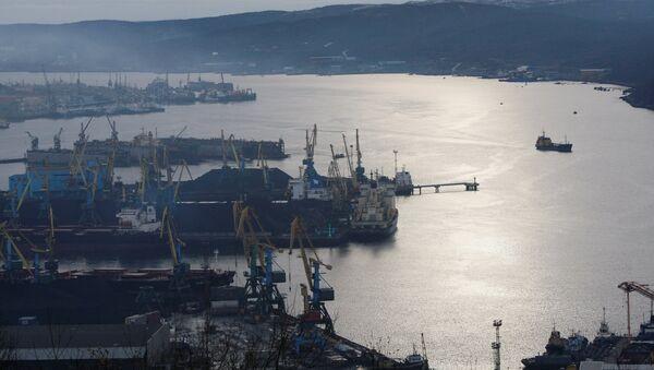 Puerto de carga de Múrmansk - Sputnik Mundo