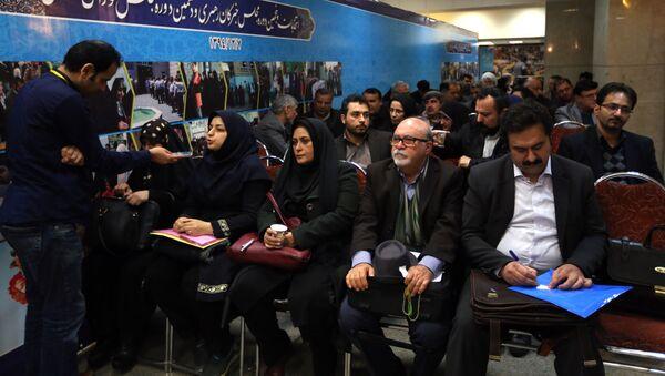 La registración de los candidatos para las legislativas en Irán - Sputnik Mundo
