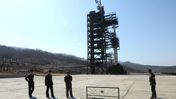 Polígono nuclear de Corea del Norte en Sohae - Sputnik Mundo