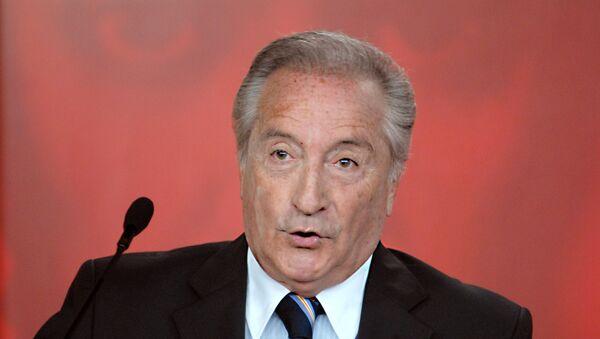 Eugenio Figueredo, exvicepresidente de FIFA - Sputnik Mundo