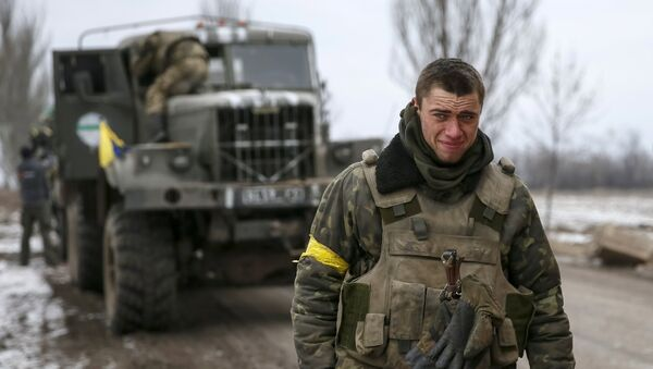 Militares ucranianos, foto de archivo - Sputnik Mundo
