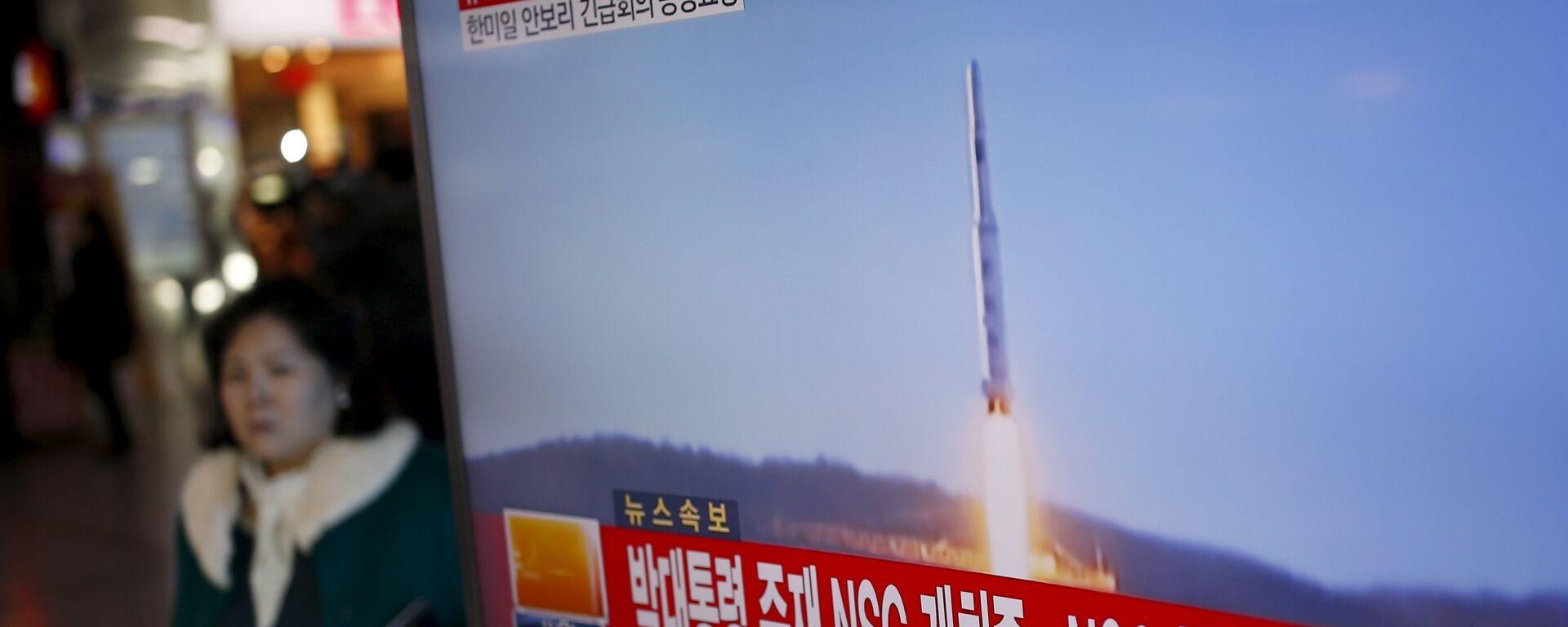 Corea del Norte lanza un misil de largo alcance - Sputnik Mundo, 1920, 24.03.2021