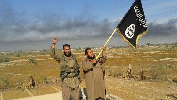 Militantes de Daesh - Sputnik Mundo