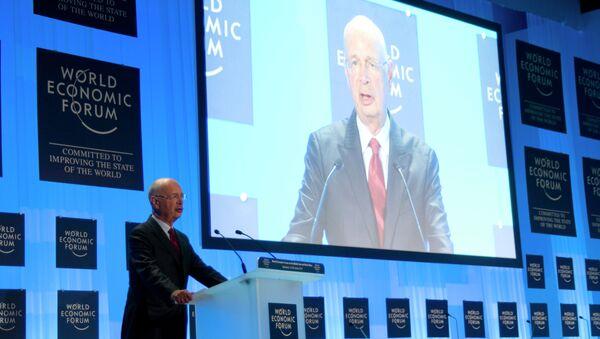 Klaus Schwab, fundador y director ejecutivo del Foro Económico Mundial - Sputnik Mundo