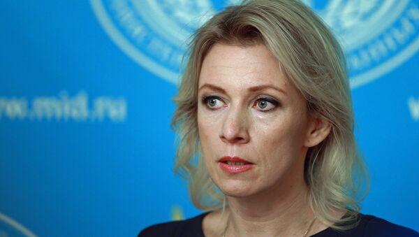 Maria Zajárova (archivo) - Sputnik Mundo