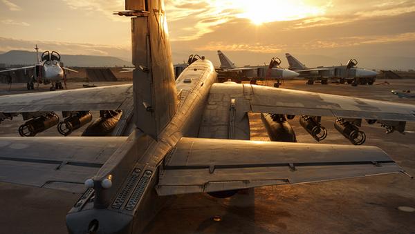 Fuerzas Aeroespacial de Rusia en la base siria Hmeimim - Sputnik Mundo