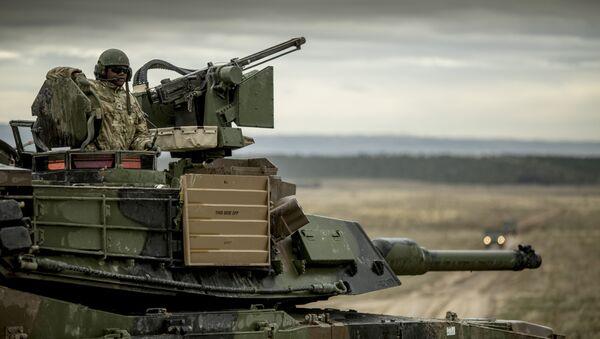 Maniobras de la OTAN en Europa Trident Juncture (archivo) - Sputnik Mundo
