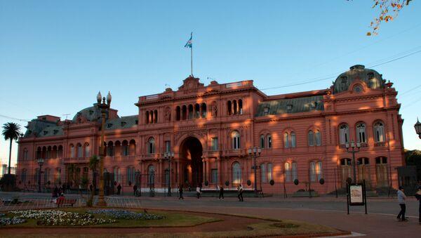Casa Rosada, sede del Gobierno de Argentina - Sputnik Mundo