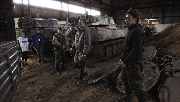 Las milicias de la RPD retira los morteros de Donetsk - Sputnik Mundo