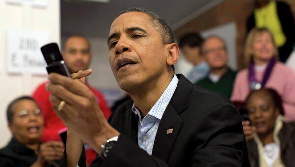 Barack Obama, presidente de EEUU (archivo) - Sputnik Mundo