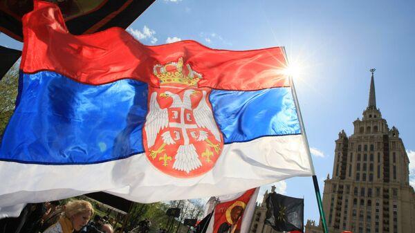Serb March in support of Serbia's territorial integrity - Sputnik Mundo
