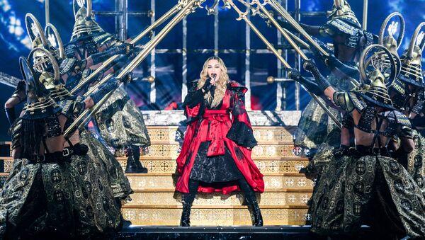 Madonna, cantante estadounidense - Sputnik Mundo