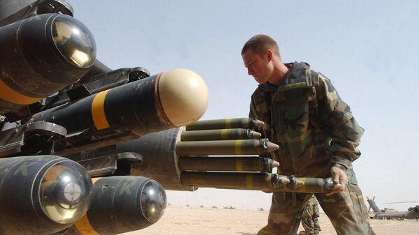Misiles estadounidenses Hellfire - Sputnik Mundo