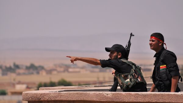 Kurdos sirios de YPG - Sputnik Mundo