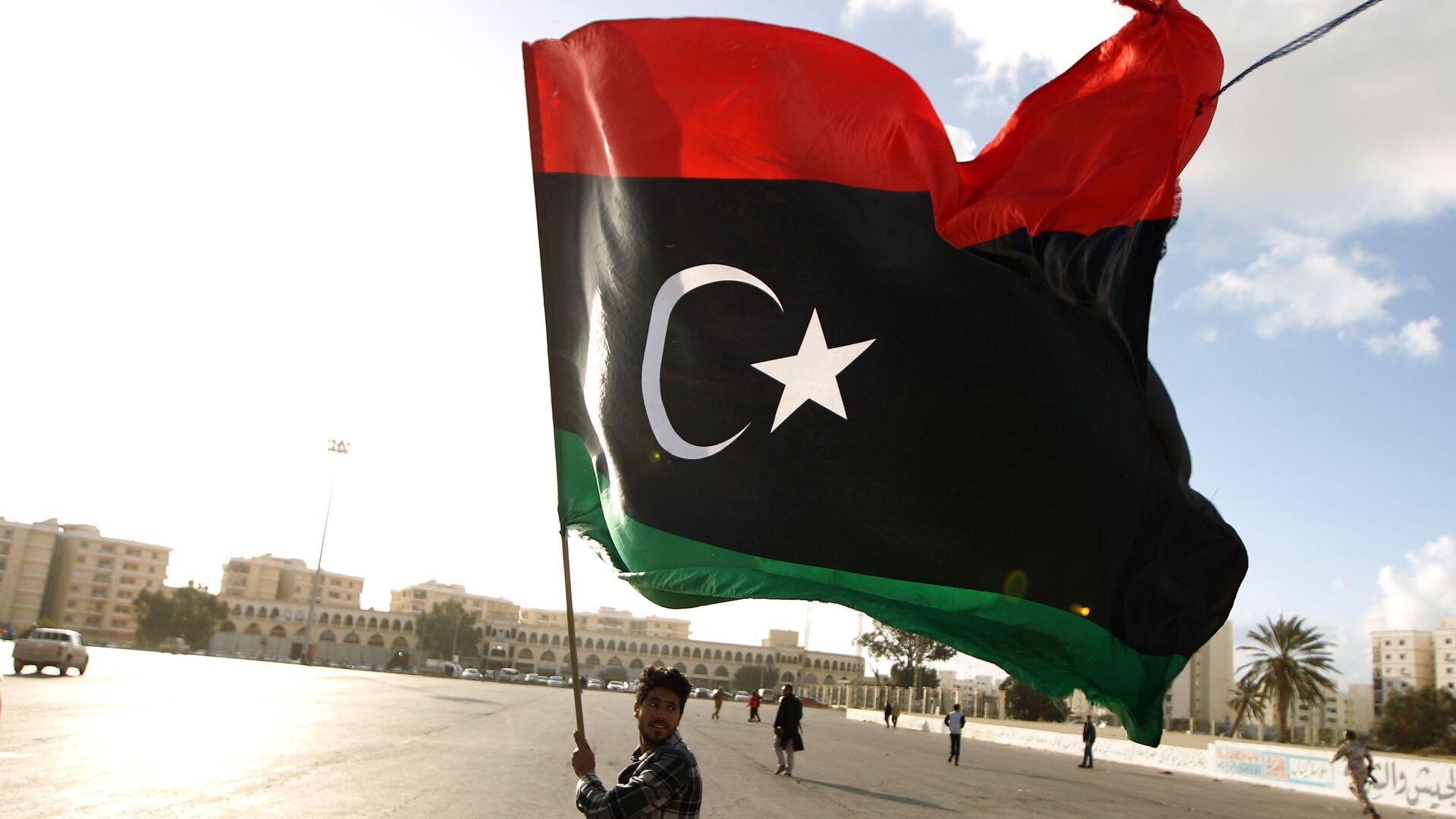 Bandera de Libia - Sputnik Mundo, 1920, 30.09.2021