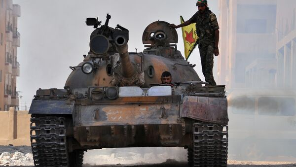 YPG, brazo armado del PYD - Sputnik Mundo