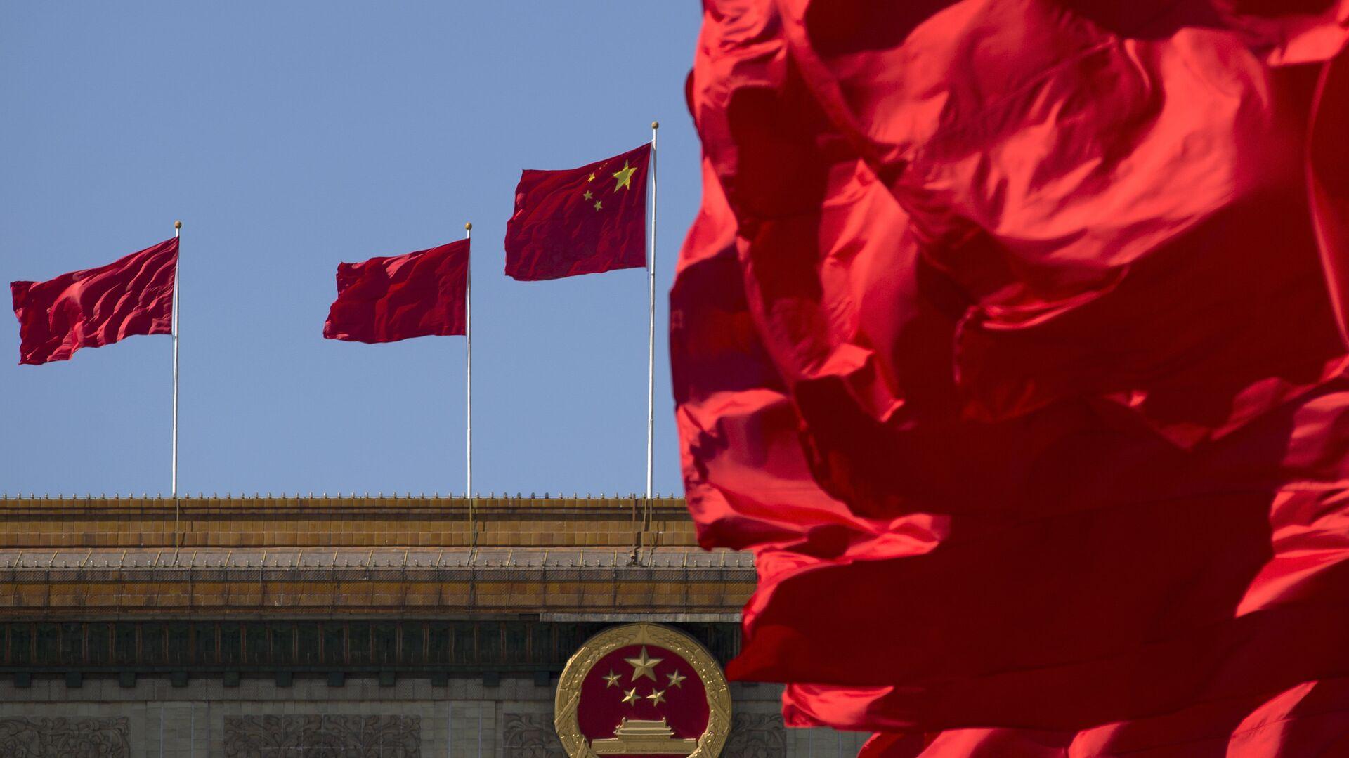 La bandera nacional de China - Sputnik Mundo, 1920, 25.03.2021