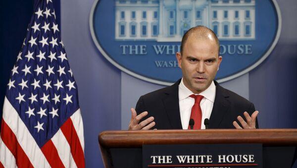 Ben Rhodes, viceasesor presidencial de EEUU - Sputnik Mundo