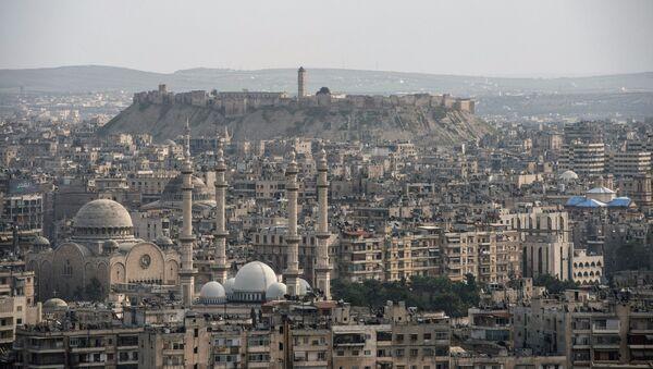 La ciudad siria de Alepo - Sputnik Mundo