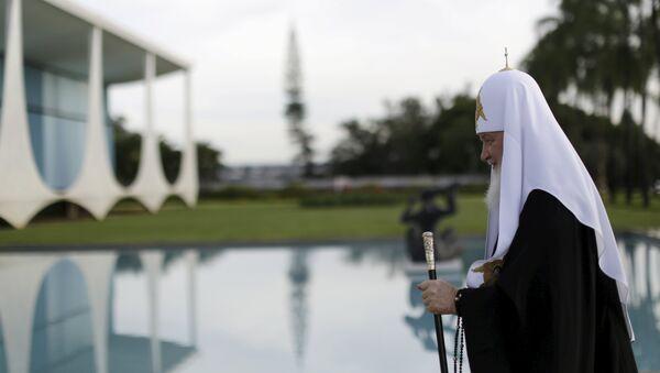 Patriarca Kiril llega al Palácio da Alvorada - Sputnik Mundo