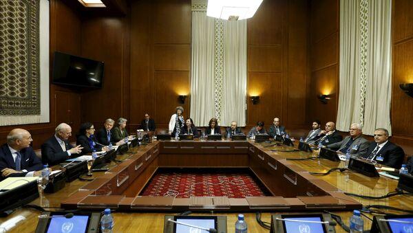 Negociaciones en Ginebra (Archivo) - Sputnik Mundo