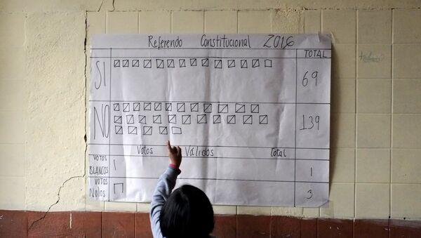 Conteo de los votos en Bolivia - Sputnik Mundo